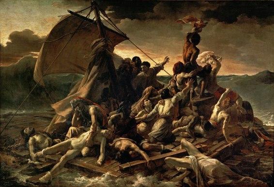 GÉRICAULT_-_La_Balsa_de_la_Medusa_(Museo_del_Louvre,_1818-19)