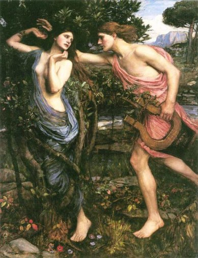 Apollo and Daphne - JW Waterhouse