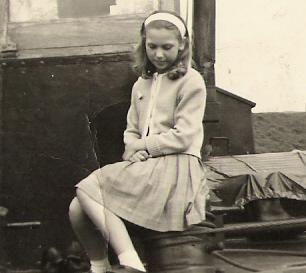Henriette op het schip