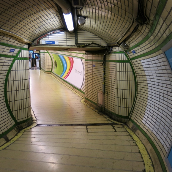labyrint metro londen