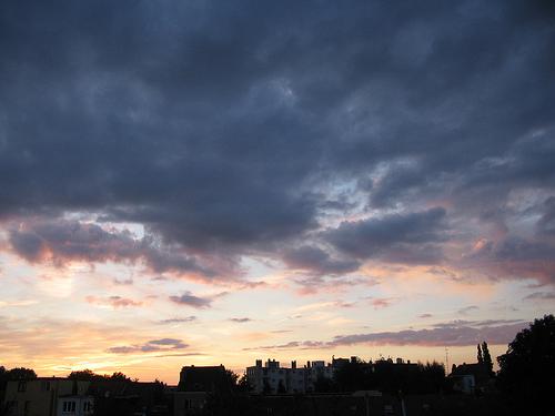 Anderlechtse zonsondergang