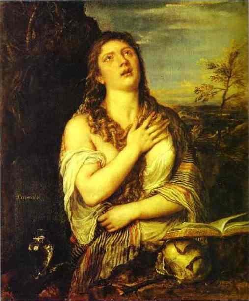 titian - maria magdalena