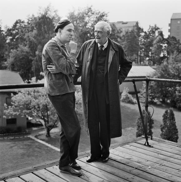 Bergman_Sjostrom_1957