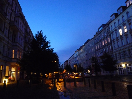 berlin after the rain