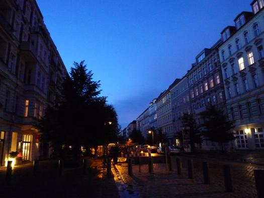 berlin after the rain
