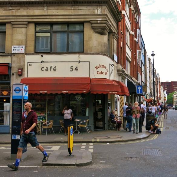 wardour street café