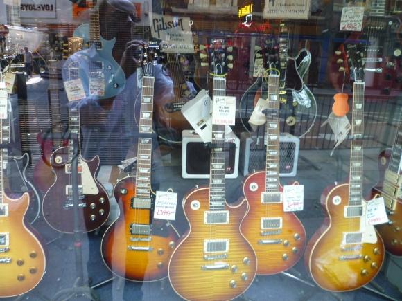 gitaren shop londen