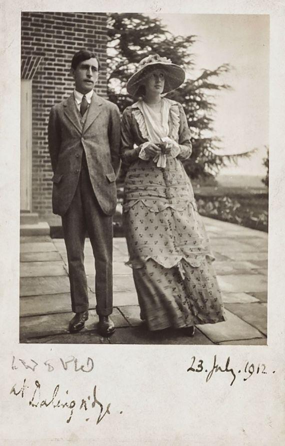 virginia en leonard woolf 1912