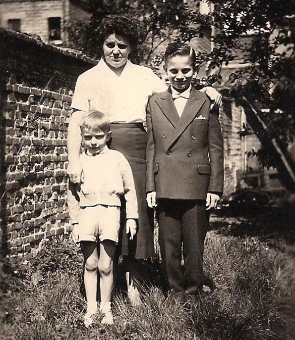 fifties - met moeder en françois