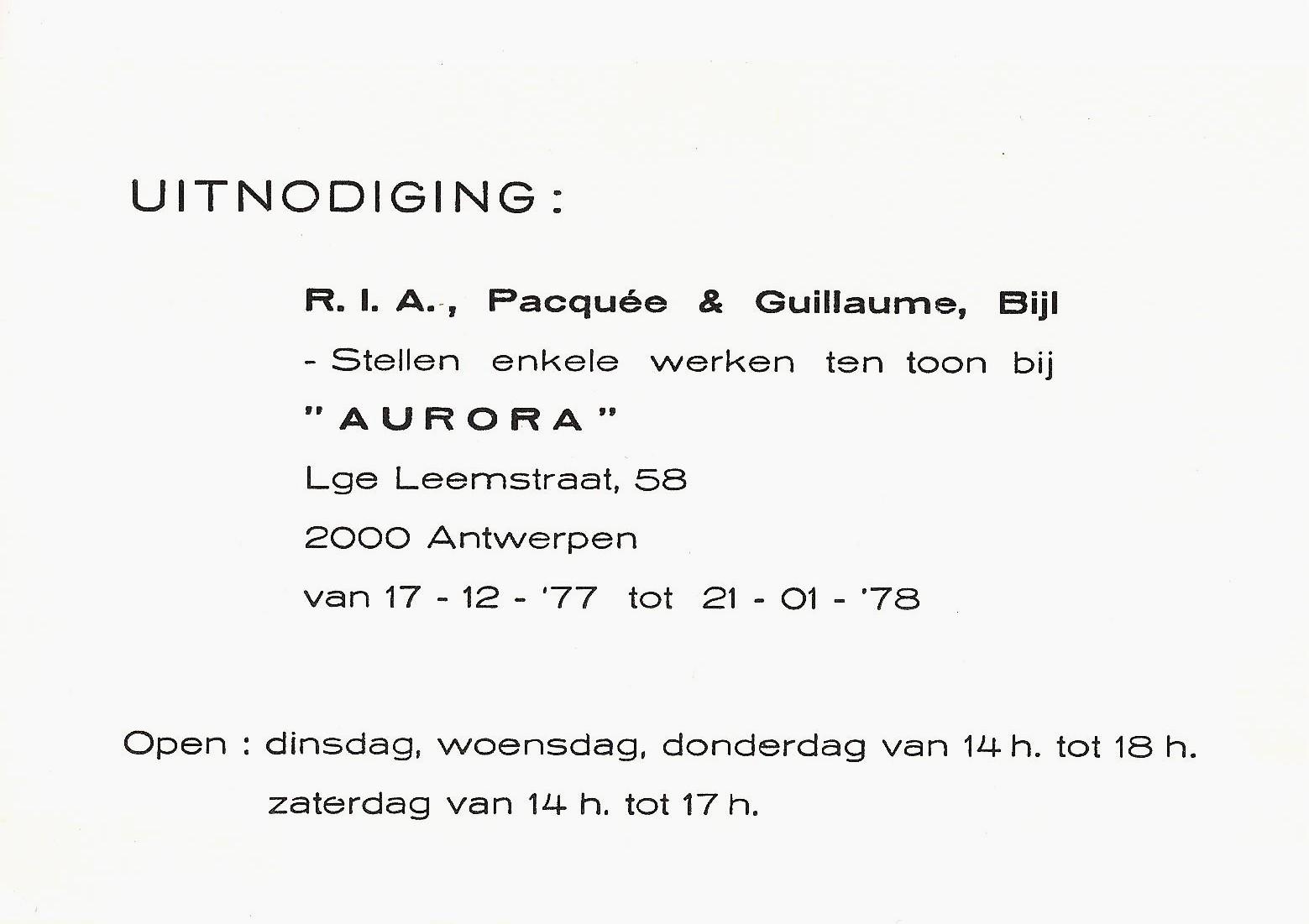 AURORA GB RP 001
